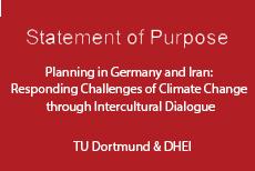 فرصت نهایی شرکت در پروژه مشترک با دانشگاه دورتمند آلمان:Planning in Germany and Iran: Responding Challenges of Climate Change Through Intercultural Dialogue